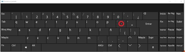 Colocar la tilde correctamente || español (peru) - teclado español