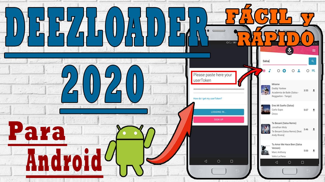 Descargar deezloader para android 2020