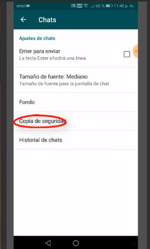 Pasos para activar el whatsapp negro