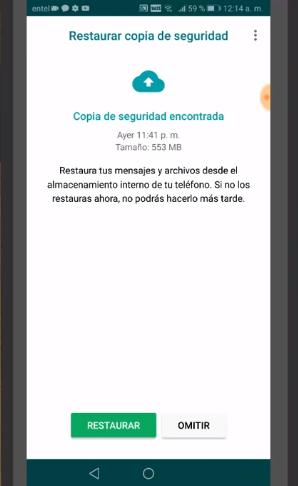 configurando whatsapp paso 3