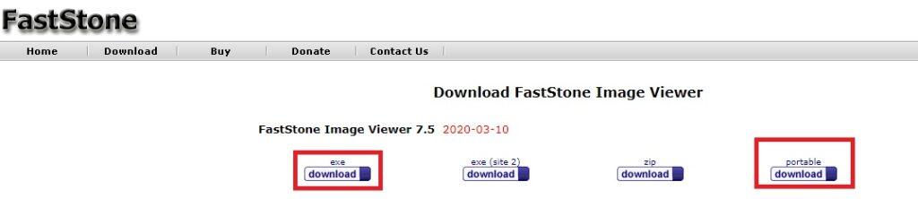 Descargar e instalar faststone en version portable y ejecutable