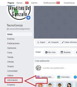 Pasos para cambiar el nombre de tu pagina en facebook