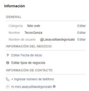 Pasos para cambiar el nombre de una pagina en facebook