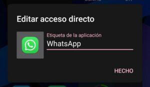 Cambiar a rosa whatsapp