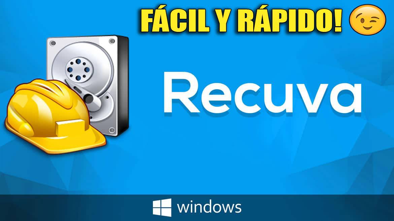Descargar e instalar Recuva recuperar archivos eliminado